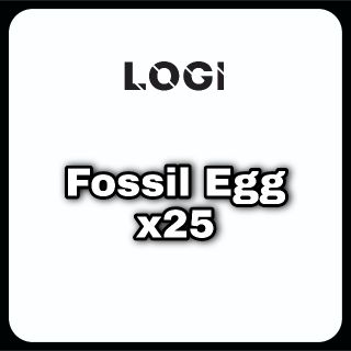 Pet | Fossil Egg x25