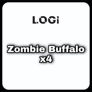 Pet   Zombie Buffalo x4