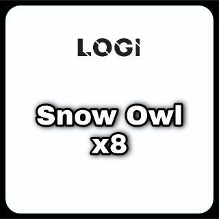 Pet   Snow Owl x8