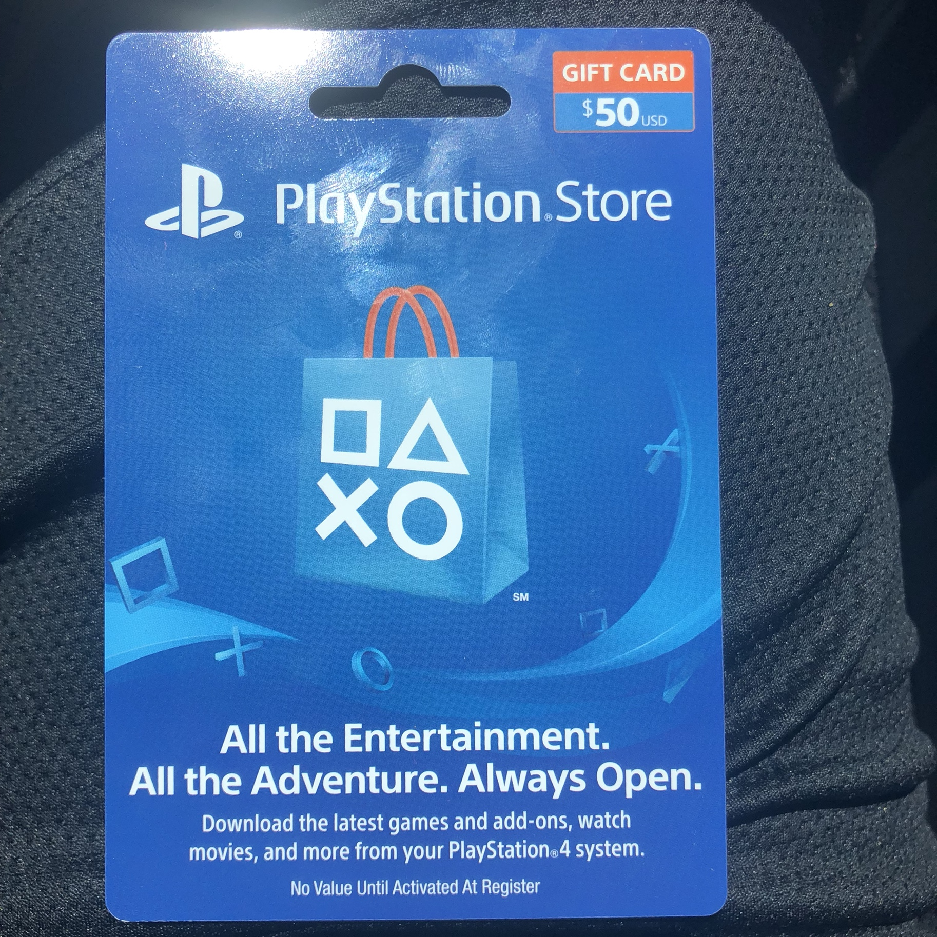 $50 PSN Gift Card 15% Off - PlayStation Store Gift Cards