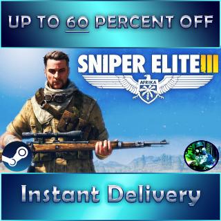Sniper Elite 3 (INSTANT DELIVERY - GLOBAL)
