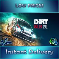 DIRT RALLY 2.0 + 3 DLCS(GLOBAL - INSTANT DELIVERY - STEAM)