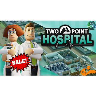 Two Point Hospital (Steam Key - INSTANT- GLOBAL)