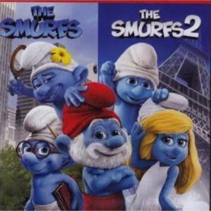 The Smurfs 1 & 2 digital HD