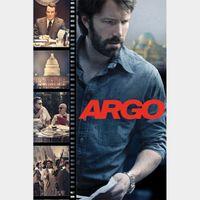 Argo (digital HD) MA redeems