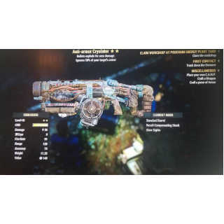 Weapon   AA Cryolator 2*