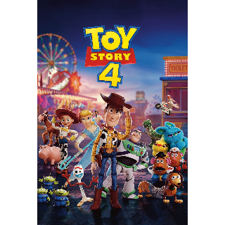 Toy Story 4 with DMR Points