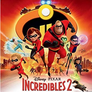 Incredibles 2 on 4k/UHD with DMR points