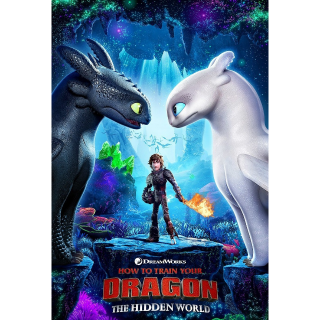4k/UHD How to train your dragon the hidden world