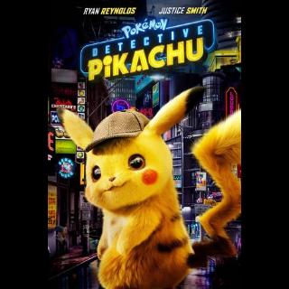 Pokemon detective Pikachu in 4k/UHD