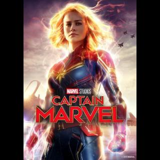 Captain marvel 4k/UHD with DMR points