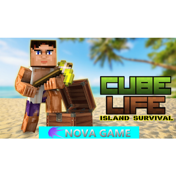 Automatic delivery Cube Life: Island Survival - Steam Games