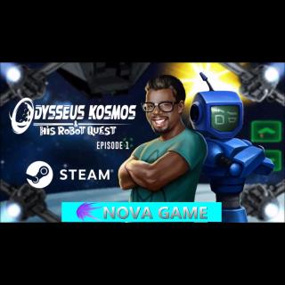 Odysseus Kosmos and his Robot Quest: Adventure Game STEAM KEY