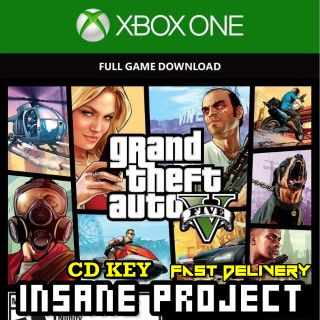 Grand Theft Auto V Xbox One Key Global [GTA V] [ GTA 5]