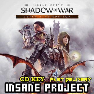 Middle-earth: Shadow of War Definitive Edition Steam Key GLOBAL