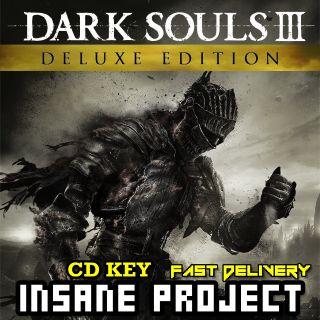 Dark Souls 3 III Deluxe Edition