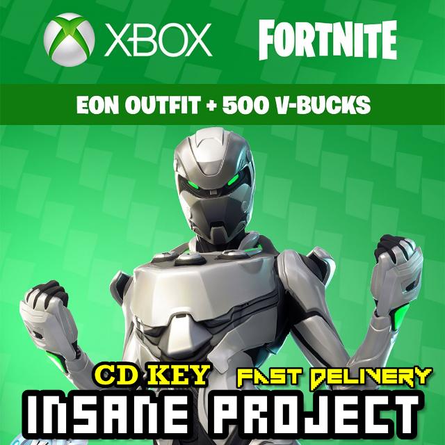 Fortnite Eon Cosmetic Set + 500 V-Bucks Xbox One Global