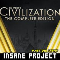 Sid Meier's Civilization V 5 - Complete (PC/Steam) 𝐝𝐢𝐠𝐢𝐭𝐚𝐥 𝐜𝐨𝐝𝐞 / 🅸🅽🆂🅰🅽🅴 - 𝐹𝑢𝑙𝑙 𝐺𝑎𝑚𝑒