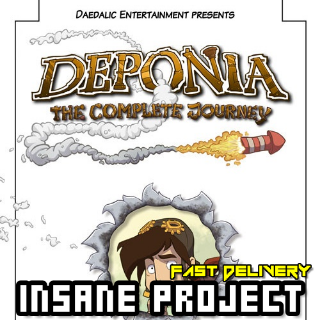 Deponia: The Complete Journey Steam Gift GLOBAL