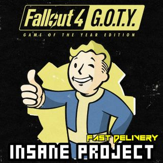 Fallout 4: Game of the Year Edition (PC/Steam) 𝐝𝐢𝐠𝐢𝐭𝐚𝐥 𝐜𝐨𝐝𝐞 / 🅸🅽🆂🅰🅽🅴 𝐨𝐟𝐟𝐞𝐫! - 𝐹𝑢𝑙𝑙 𝐺𝑎𝑚𝑒