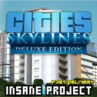 Cities: Skylines Deluxe Edition (PC/Steam) 𝐝𝐢𝐠𝐢𝐭𝐚𝐥 𝐜𝐨𝐝𝐞 / 🅸🅽🆂🅰🅽🅴 𝐨𝐟𝐟𝐞𝐫! - 𝐹𝑢𝑙𝑙 𝐺𝑎𝑚𝑒