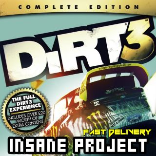 DiRT 3 Complete Edition (PC/Steam) 𝐝𝐢𝐠𝐢𝐭𝐚𝐥 𝐜𝐨𝐝𝐞 / 🅸🅽🆂🅰🅽🅴 𝐨𝐟𝐟𝐞𝐫! - 𝐹𝑢𝑙𝑙 𝐺𝑎𝑚𝑒
