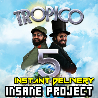 Tropico 5 (PC/Steam) 𝐝𝐢𝐠𝐢𝐭𝐚𝐥 𝐜𝐨𝐝𝐞 / 🅸🅽🆂🅰🅽🅴 - 𝐹𝑢𝑙𝑙 𝐺𝑎𝑚𝑒