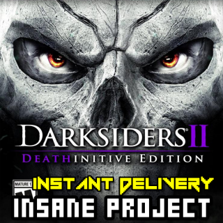 Darksiders II Deathinitive Edition (PC/Steam) 𝐝𝐢𝐠𝐢𝐭𝐚𝐥 𝐜𝐨𝐝𝐞 / 🅸🅽🆂🅰🅽🅴 𝐨𝐟𝐟𝐞𝐫! - 𝐹𝑢𝑙𝑙
