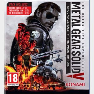 Metal Gear Solid V The Definitive Experience (PC/Steam) 𝐝𝐢𝐠𝐢𝐭𝐚𝐥 𝐜𝐨𝐝𝐞 / 🅸🅽🆂🅰🅽🅴