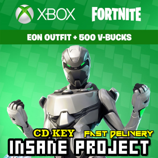 Fortnite Eon Skin Bundle + 500 V Bucks