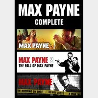 MAX PAYNE COMPLETE (PC/Steam) 𝐝𝐢𝐠𝐢𝐭𝐚𝐥 𝐜𝐨𝐝𝐞 / 🅸🅽🆂🅰🅽🅴 𝐨𝐟𝐟𝐞𝐫! - 𝐹𝑢𝑙𝑙 𝐺𝑎𝑚𝑒