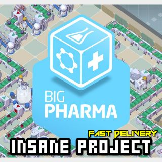 Big Pharma (PC/Steam) 𝐝𝐢𝐠𝐢𝐭𝐚𝐥 𝐜𝐨𝐝𝐞 / 🅸🅽🆂🅰🅽🅴 𝐨𝐟𝐟𝐞𝐫! - 𝐹𝑢𝑙𝑙 𝐺𝑎𝑚𝑒