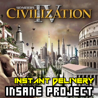 Sid Meier's Civilization IV (PC/Steam) 𝐝𝐢𝐠𝐢𝐭𝐚𝐥 𝐜𝐨𝐝𝐞 / 🅸🅽🆂🅰🅽🅴 - 𝐹𝑢𝑙𝑙 𝐺𝑎𝑚𝑒