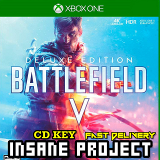 Battlefield V 5 Deluxe Edition Xbox One GLOBAL