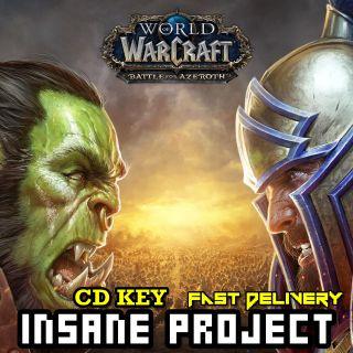 World of Warcraft: Battle for Azeroth Battle.net Key US
