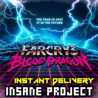 Far Cry 3 Blood Dragon (PC/Uplay) 𝐝𝐢𝐠𝐢𝐭𝐚𝐥 𝐜𝐨𝐝𝐞 / 🅸🅽🆂🅰🅽🅴 𝐨𝐟𝐟𝐞𝐫! - 𝐹𝑢𝑙𝑙 𝐺𝑎𝑚𝑒
