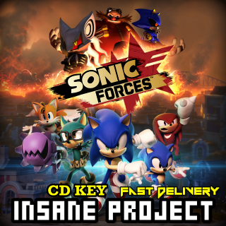 Sonic Forces Steam Key Global