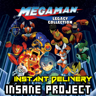 Mega Man Legacy Collection (PC/Steam) 𝐝𝐢𝐠𝐢𝐭𝐚𝐥 𝐜𝐨𝐝𝐞 / 🅸🅽🆂🅰🅽🅴 𝐨𝐟𝐟𝐞𝐫! - 𝐹𝑢𝑙𝑙 𝐺𝑎𝑚𝑒