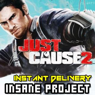 Just Cause 2 (PC/Steam) 𝐝𝐢𝐠𝐢𝐭𝐚𝐥 𝐜𝐨𝐝𝐞 / 🅸🅽🆂🅰🅽🅴 𝐨𝐟𝐟𝐞𝐫! - 𝐹𝑢𝑙𝑙 𝐺𝑎𝑚𝑒