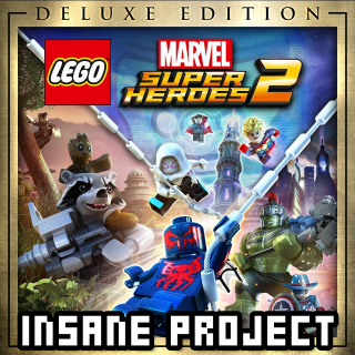 Lego Marvel Super Heroes 2 Deluxe Edition (PC/Steam) 𝐝𝐢𝐠𝐢𝐭𝐚𝐥 𝐜𝐨𝐝𝐞 / 🅸🅽🆂🅰🅽🅴 𝐨𝐟𝐟𝐞𝐫! - 𝐹𝑢𝑙𝑙 𝐺𝑎𝑚𝑒