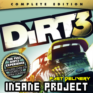 DiRT 3 Complete Edition Steam Key GLOBAL[Fast Delivery]