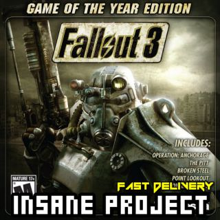 Fallout 3 - Game of the Year Edition Steam Key GLOBAL