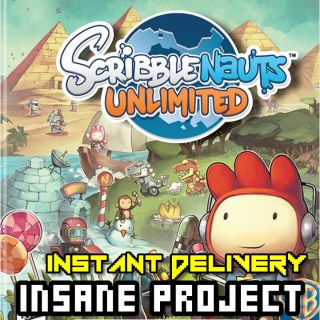 Scribblenauts Unlimited (PC/Steam) 𝐝𝐢𝐠𝐢𝐭𝐚𝐥 𝐜𝐨𝐝𝐞 / 🅸🅽🆂🅰🅽🅴 𝐨𝐟𝐟𝐞𝐫! - 𝐹𝑢𝑙𝑙 𝐺𝑎𝑚𝑒