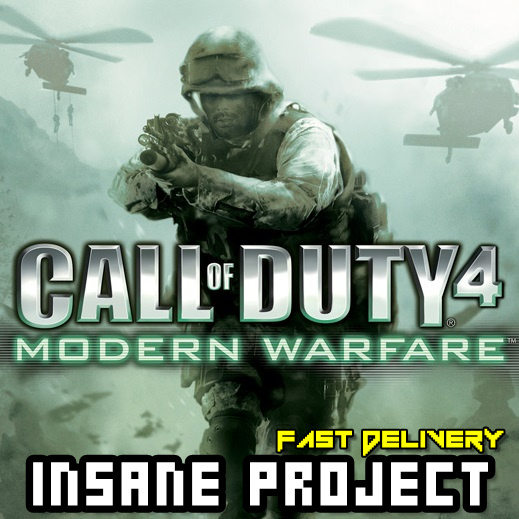 Call of Duty 4: Modern Warfare (PC/Steam) 𝐝𝐢𝐠𝐢𝐭𝐚𝐥 𝐜𝐨𝐝𝐞 / 🅸🅽🆂🅰🅽🅴 𝐨𝐟𝐟𝐞𝐫! - 𝐹𝑢𝑙𝑙 𝐺𝑎𝑚𝑒