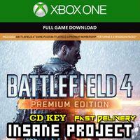 Battlefield 4 Premium Edition XBOX ONE Key GLOBAL