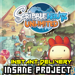 Scribblenauts Unlimited ✈INSTANT DELIVERY