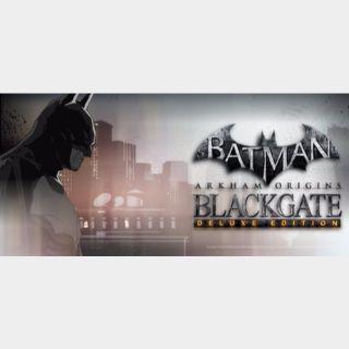 Batman Arkham Origins Blackgate - Deluxe Edition Steam Key
