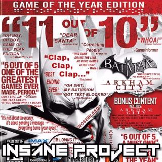 Batman: Arkham City GOTY (PC/Steam) 🅸🅽🆂🅰🅽🅴 - 𝐹𝑢𝑙𝑙 𝐺𝑎𝑚𝑒