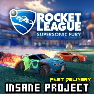 Rocket League - Supersonic Fury Steam Key GLOBAL