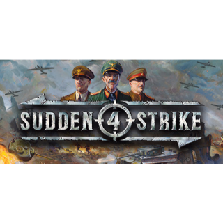 Sudden Strike 4 Steam Key